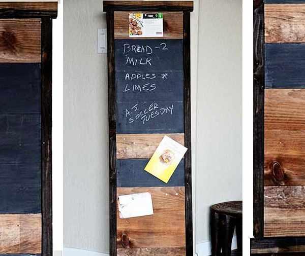 Scrapwood Chalkboard
