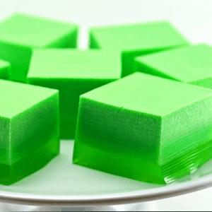 Green Ice Cream Jello Recipe for St. Patrick's Day