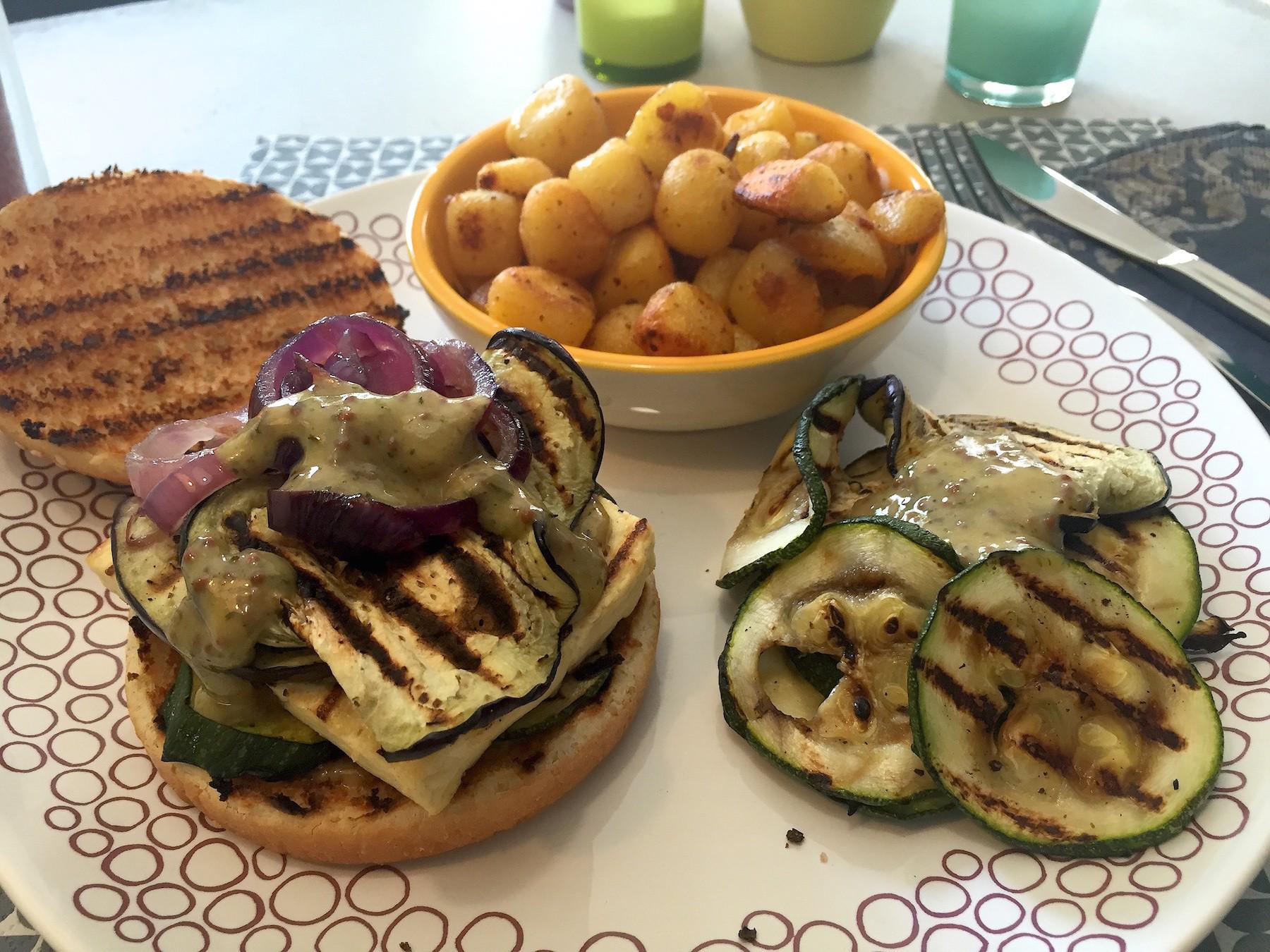 voorbeeld tofuburger