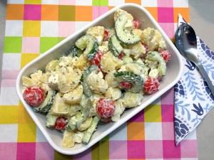 Griekse aardappelsalade 3