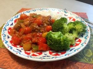 Vegetarische goulash 2
