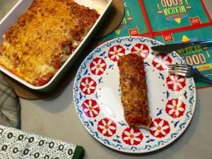 totaal Gegratineerde Burrito's
