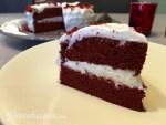 Smakelijk Red Velvet taart