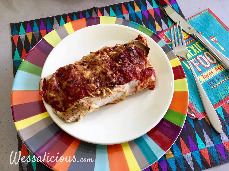 eindresultaat Zomer Burrito's