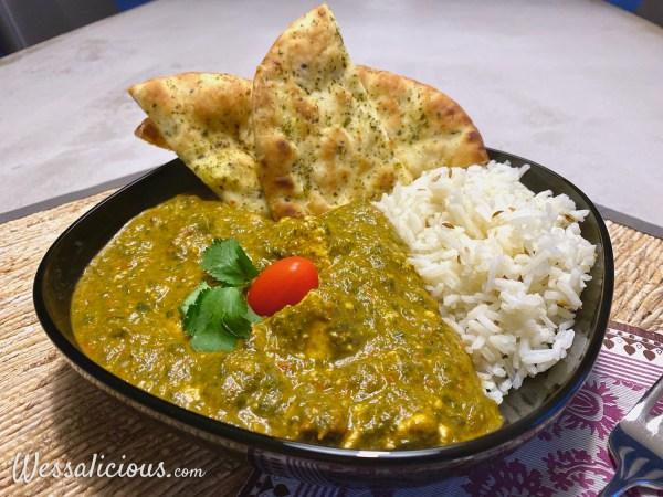 Indiase saag spinazie