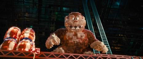 Donkey Kong wartet als Endgegner auf die Helden!