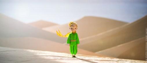 """Die Rückblenden in """"Der kleine Prinz"""" erwecken den Eindruck, aus Papier gefertigt zu sein."""