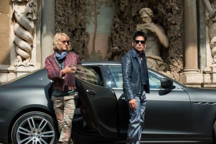 """In """"Zoolander No. 2"""" müssen Hansel (Owen Wilson) und Derek (Ben Stiller) zusammenarbeiten, um den Killer zu finden."""