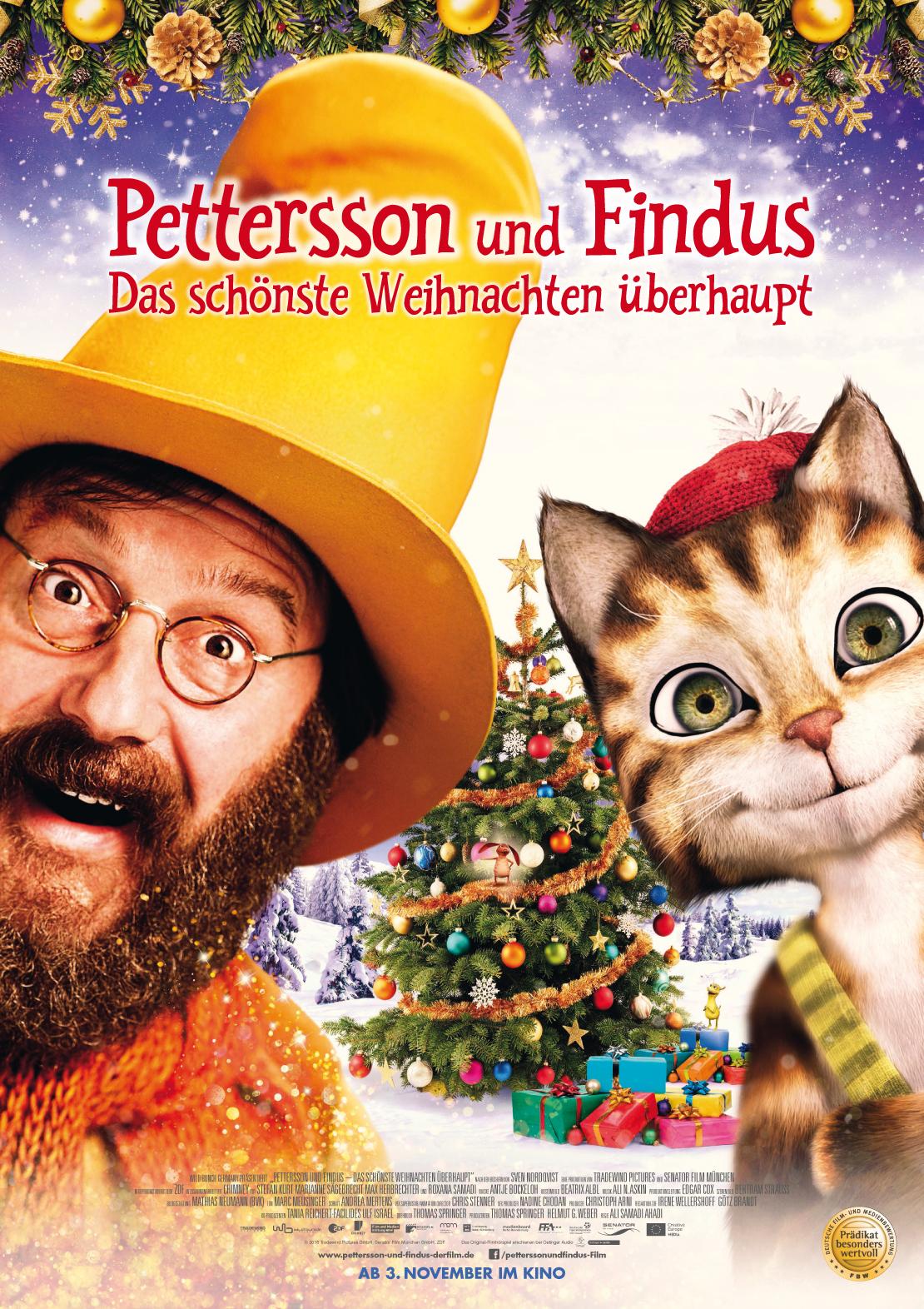Pettersson und Findus – Das schönste Weihnachten überhaupt | Wessels ...