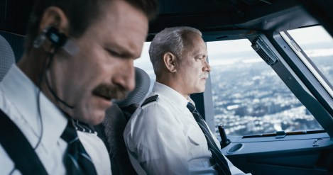Captain Sullenberger und sein Co-Pilot Jeff Skyles
