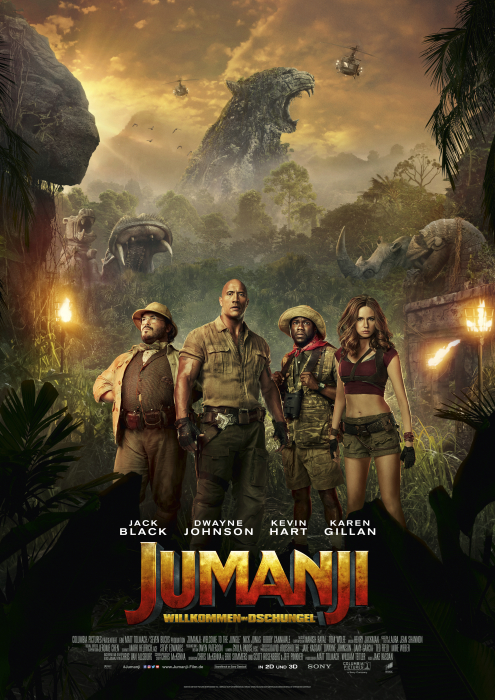 Jumanji: Willkommen im Dschungel | Wessels-Filmkritik.com