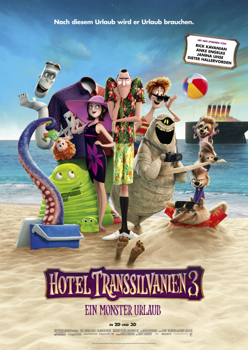 Hotel Transsilvanien 3 – Ein Monster Urlaub | Wessels-Filmkritik.com