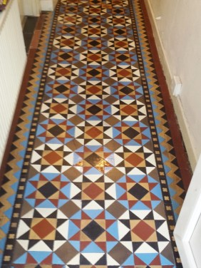 Victorian Floor Uncovered After in Lymm