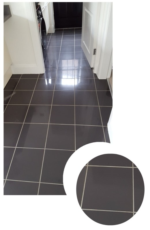 New But Discoloured Grout Refreshed In A Warrington