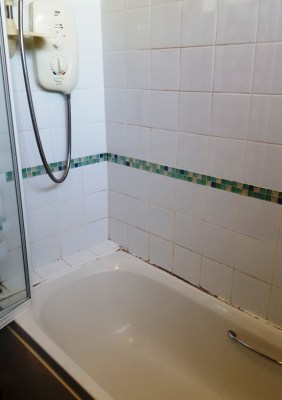 Bathroom Before Refurbishment Mere Cheshire