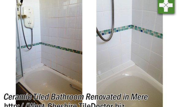 Ceramic Bathroom Wall Tile before and after Renovation in Mere