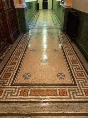 Sealing Mosaic Flooring Warrington Treasury Building