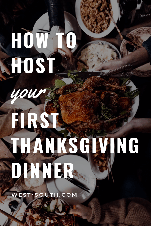 PIn Image for Host your First Thanksgiving
