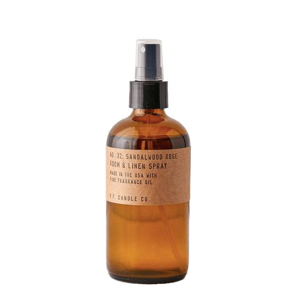 image of room spray in brown bottle