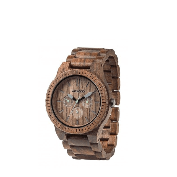 image of watch constructed entirely of wood