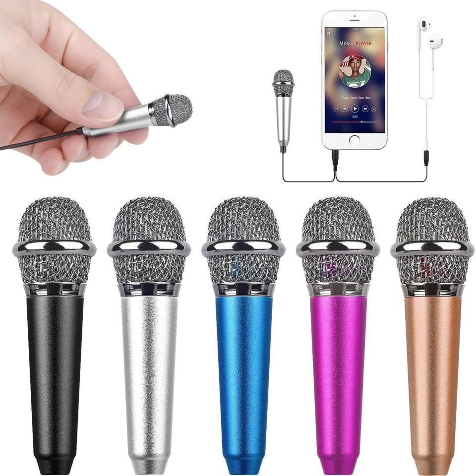 Mini Microphone in Multiple Colors