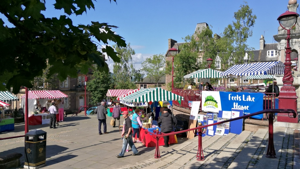 crieff town market