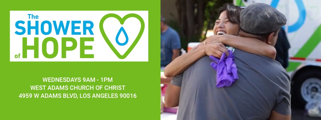 shower of hope Wednesday at Church of Christ West Adams