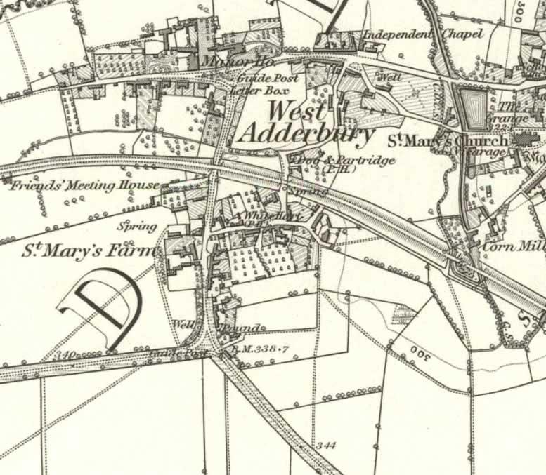 West Adderbury 1881