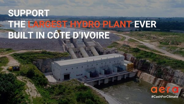 SUPPORT  THE LARGEST HYDRO PLANT EVER  BUILT IN CÔTE D'IVOIRE