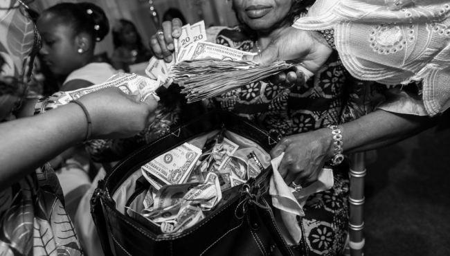 Image result for nigerians spraying money