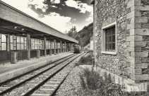 Bahnhofsgelände Cogne, Foto: © Wolfram Mikuteit