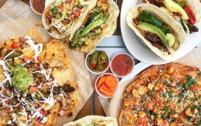 Sharky's Woodfired Mexican Grill Opens in Hollister Village