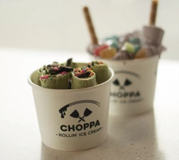 I Scream! You Scream! We All Scream For Choppa Ice Cream!