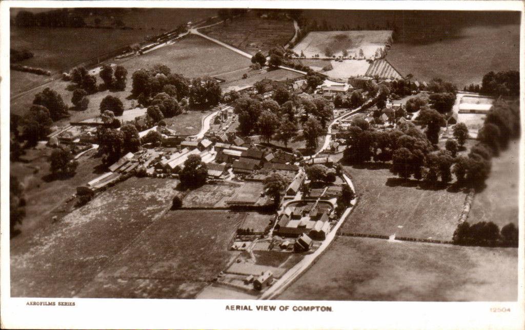 Compton-near-Streatley-by-Aerofilms-12504