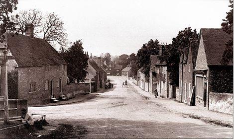 aldermaston village