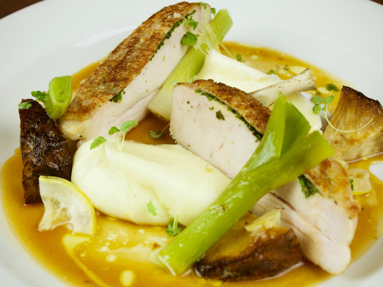 Roasted-chicken-breast-with-lemon-thyme-butter-creamed-potato-celeriac-baby-leeks-chicken-gravy-web-page