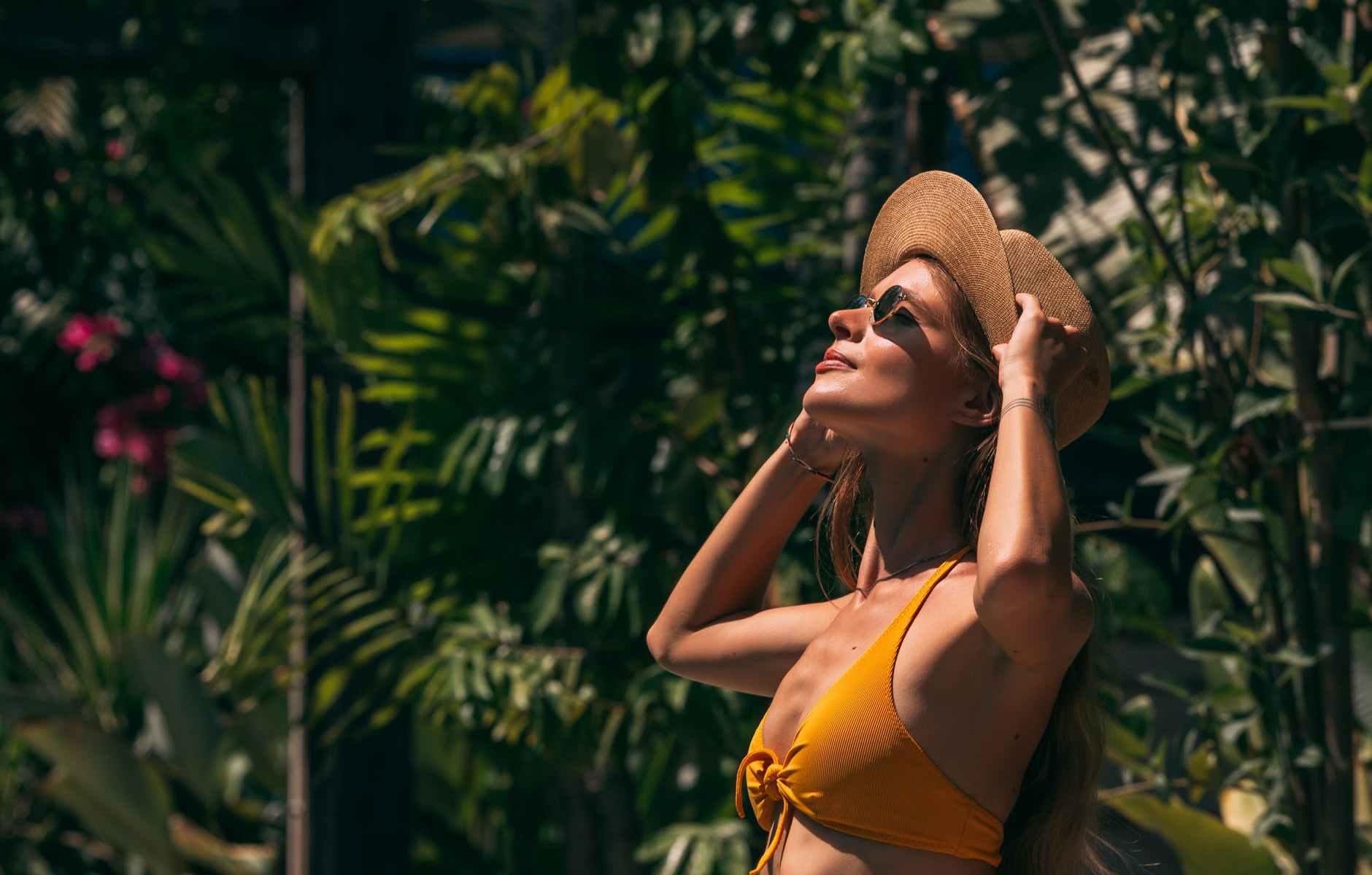 sunset fashion beach sunglasses