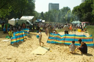 The Beach at the Westbourne Summer Festival 2013