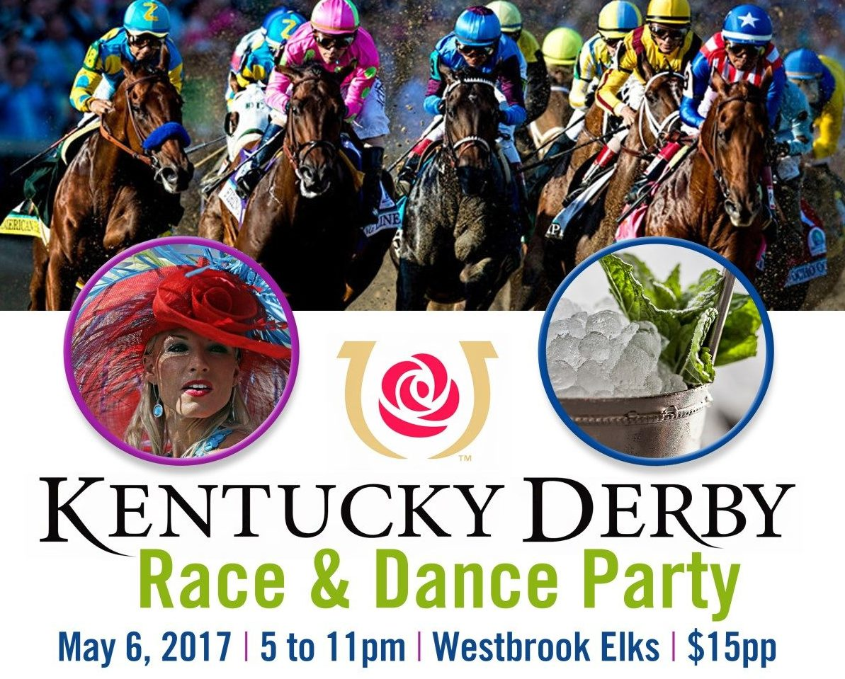 Poster for Kentucky Derby Party