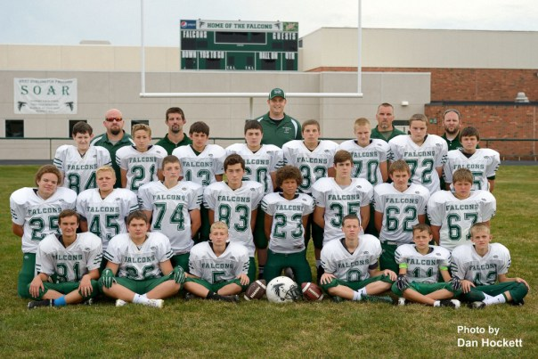 Photo by Dan Hockett Front: Bryce Sankus, Dreyton LaVeine, Riley Ruther, Hunter Reich, Riley Walker, Peyton Jancowski. Row 2: Brayden Davis, Dylan McElderry, Kameron Waterhouse, William Godar, Quintin Williams, Gage Webster, Kyle Wisbey, Trenton Blythe. Row 3: Jacob Garrison, Zachary Krantz, Jonah Fritz, Drew Chiprez, Eli Collier, Jacob Nevers, Travis Wills, Lucky Rawlings. Back: Asst. Coaches Frank Hostetter, Eric Walecheka, Head Coach Ryan Shelman, Asst. Coaches Scott Collier, Shawn Blin.