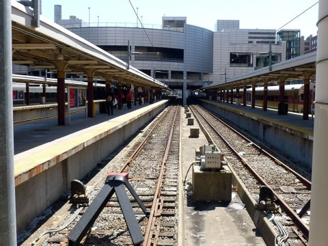 End of the line at Boston's South Station