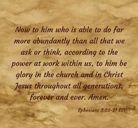 Ephesians 3.B