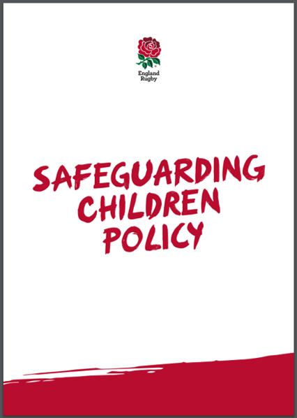 RFU Safeguarding Children Policy