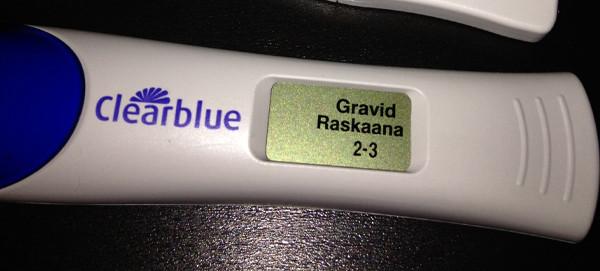swedish pregnancy test