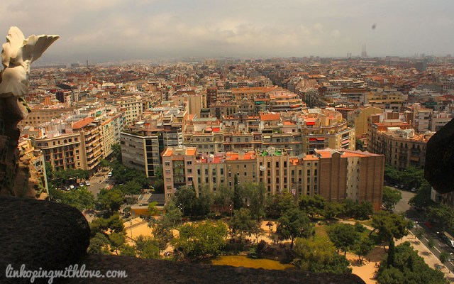 barcelona from towers 3