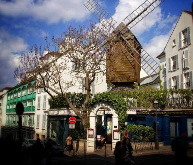 Moulin de la Galette, Paris, France