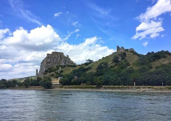 Austria/Slovakia Border on the Danube