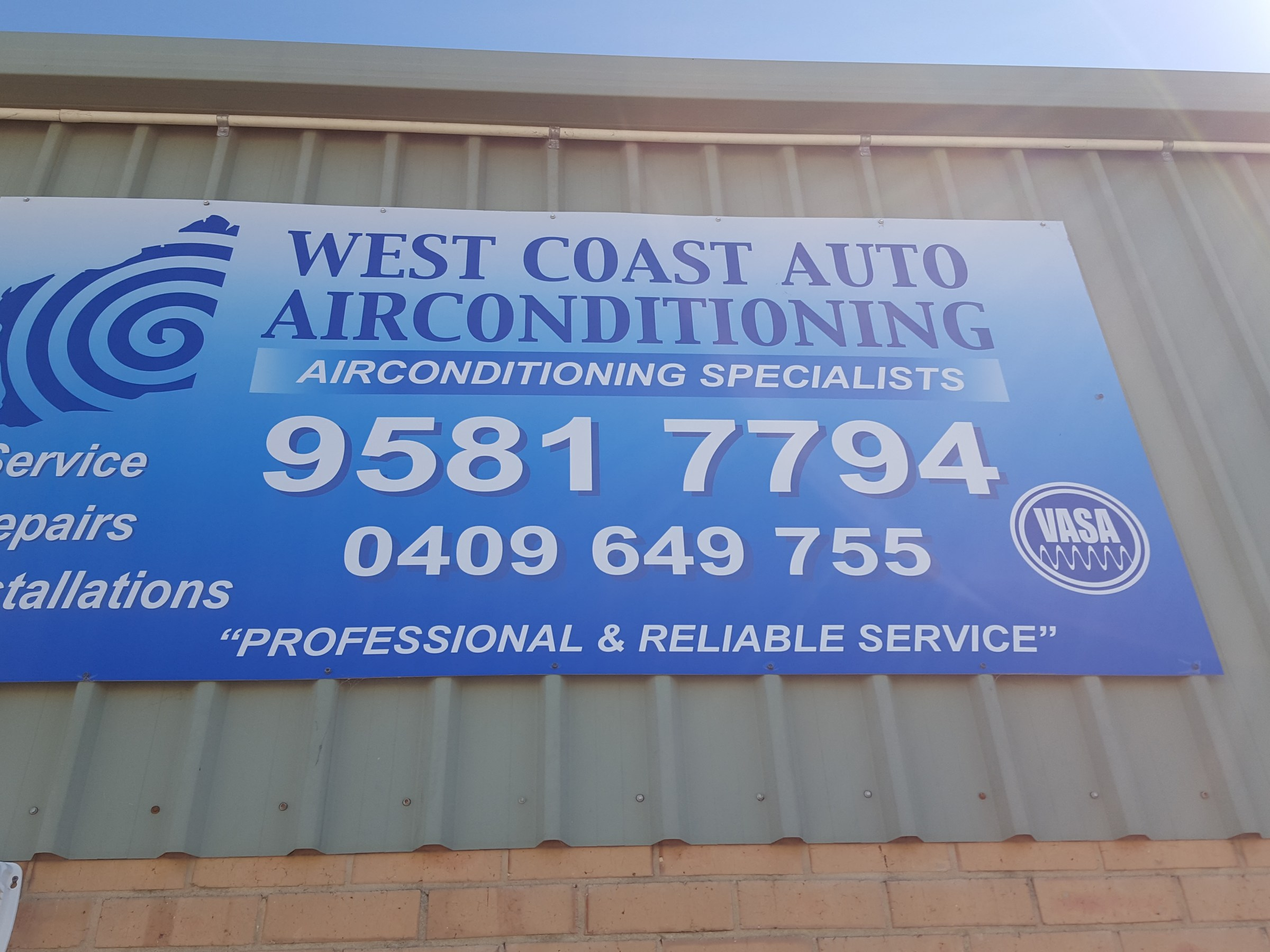 West Coast Auto Airconditioning