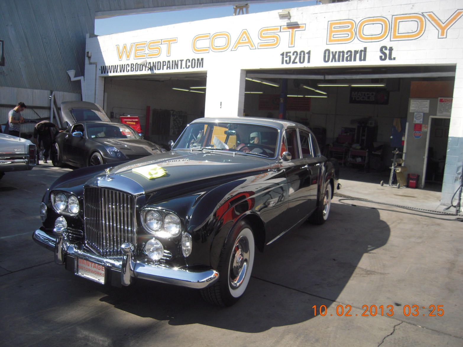 1953 Bentley Exotic Car Restoration | WEST COAST BODY AND PAINT ...
