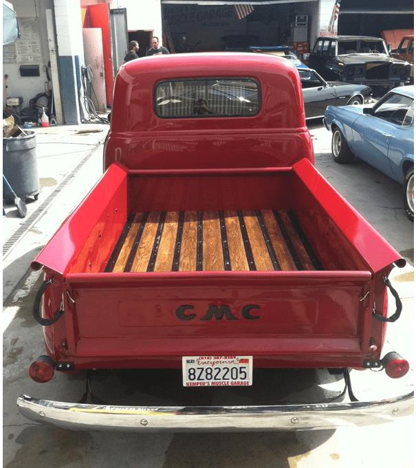 classic gmc truck restoration west coast body and paint auto body shop collision repair. Black Bedroom Furniture Sets. Home Design Ideas